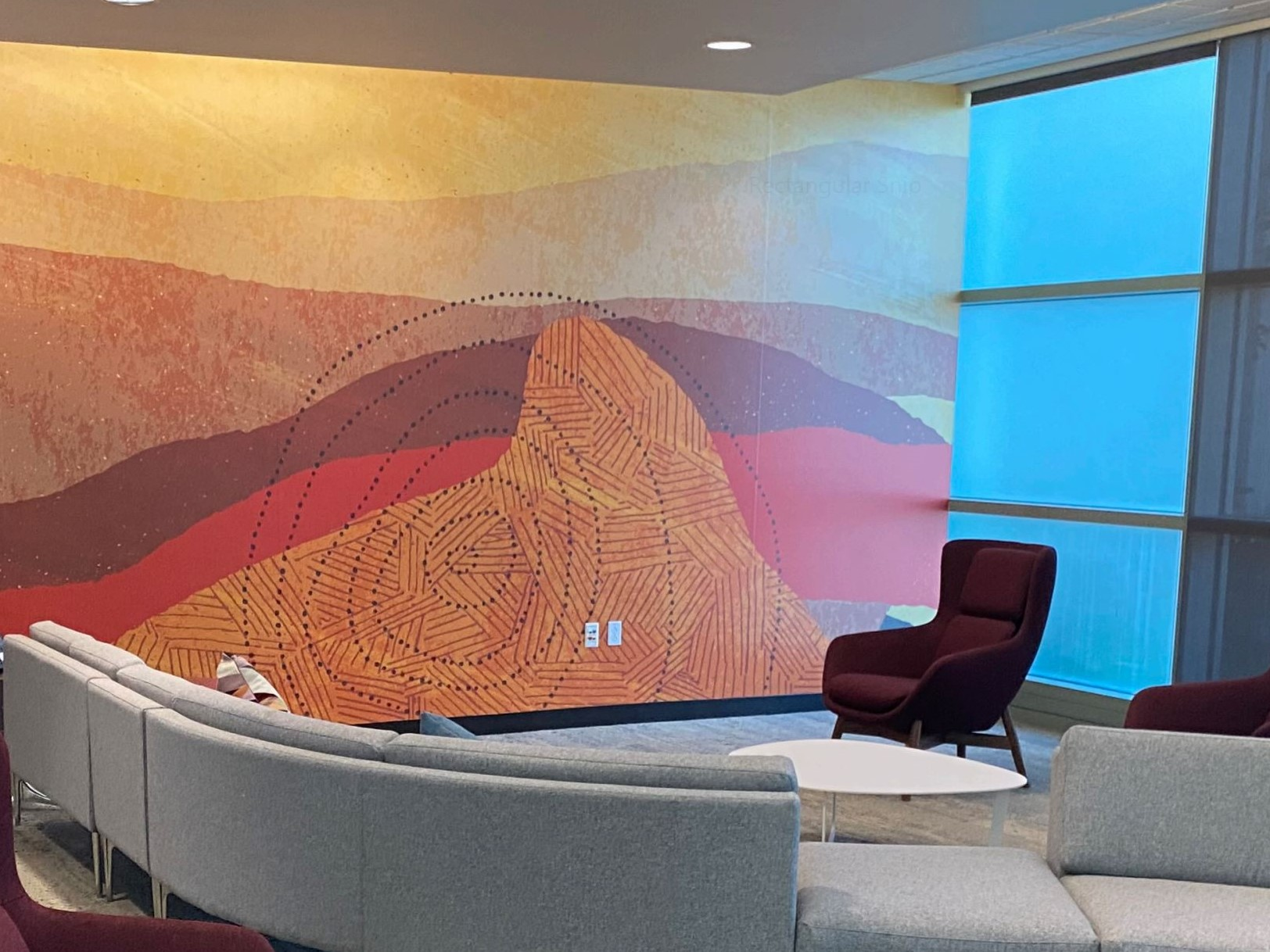 Creating Rhythm In Interior Design With Wall Graphics